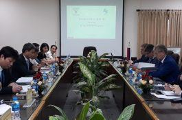 Delegation of the Intellectual Property Agency of Russian Federation visited and worked at the NOIP