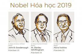 Nobel Hóa học 2019: Vinh danh 3 nhà khoa học phát triển pin lithium-ion