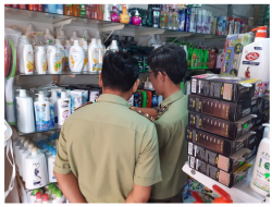 Dong Nai inspected and seized more than 200 products having signs of intellectual property infringement