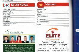 ELITE tự hào được vinh danh trên tạp chí The Patent Lawyer năm 2020