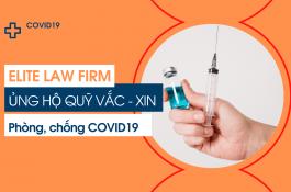 ELITE ủng hộ Quỹ vắc-xin phòng, chống dịch COVID-19
