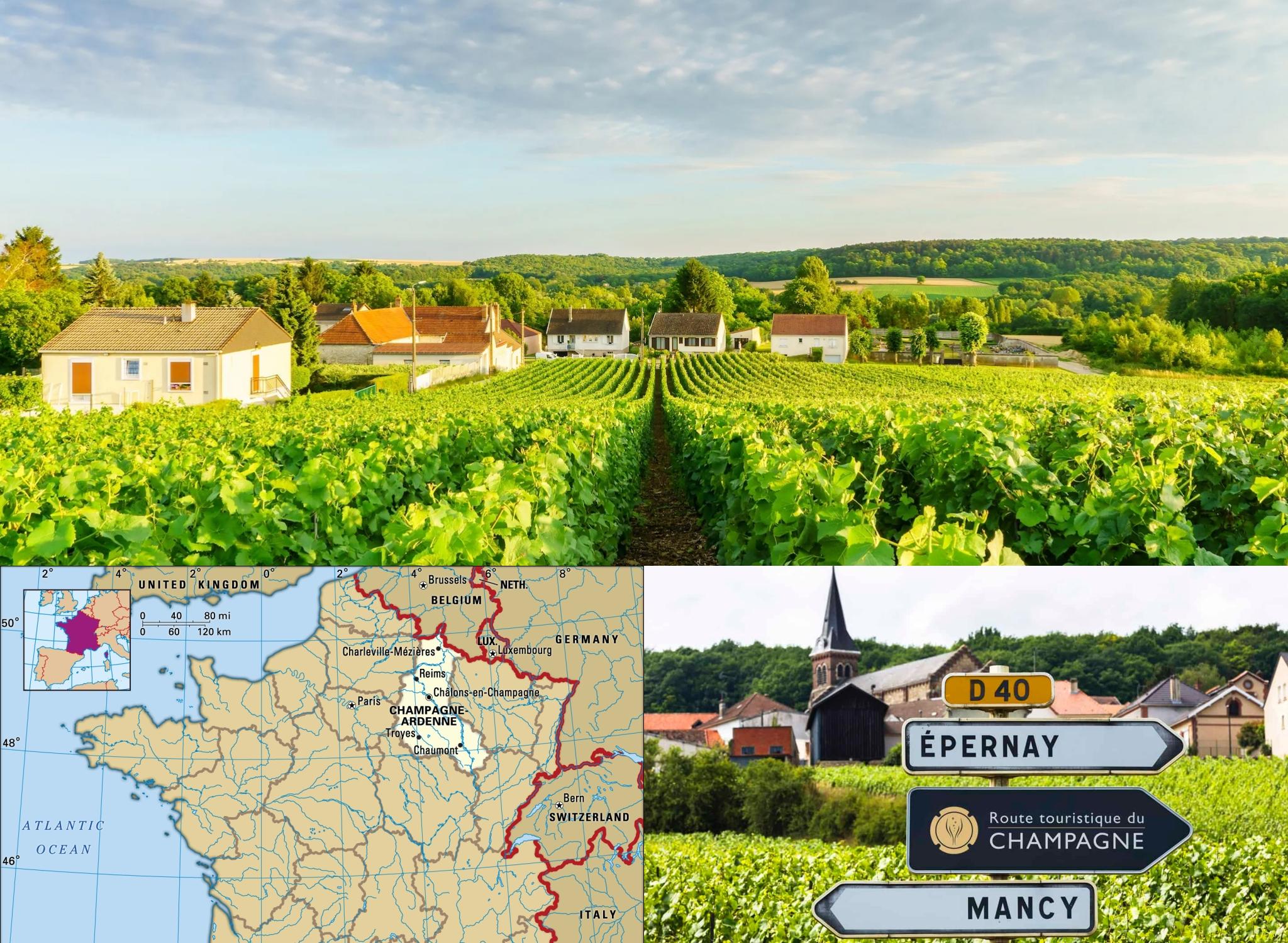 vùng đất Champange - Pháp